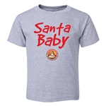 FC Santa Claus Santa Baby Toddler T-Shirt (Grey)