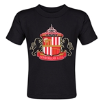 Sunderland Core Toddler T-Shirt (Black)