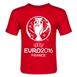 Euro 2016 Core Toddler T-Shirt (Red)