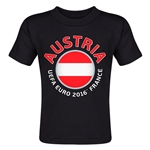 Austria Euro 2016 Fashion Toddler T-Shirt (Black)