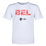 Belgium Euro 2016 Elements Toddler T-Shirt (White)