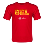 Belgium Euro 2016 Elements Toddler T-Shirt (Red)