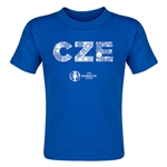 Czech Republic Euro 2016 Elements Toddler T-Shirt (Royal)