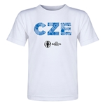 Czech Republic Euro 2016 Elements Toddler T-Shirt (White)