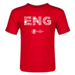 England Euro 2016 Elements Toddler T-Shirt (Red)