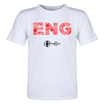 England Euro 2016 Elements Toddler T-Shirt (White)