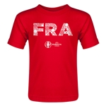 France Euro 2016 Elements Toddler T-Shirt (Red)
