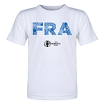 France Euro 2016 Elements Toddler T-Shirt (White)