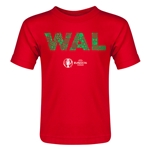 Wales Euro 2016 Elements Toddler T-Shirt (Red)