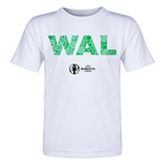 Wales Euro 2016 Elements Toddler T-Shirt (White)