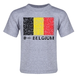 Belgium Euro 2016 Fashion Toddler T-Shirt (Grey)