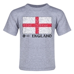 England Euro 2016 Fashion Toddler T-Shirt (Grey)