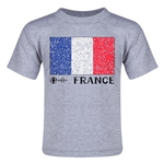 France Euro 2016 Fashion Toddler T-Shirt (Grey)