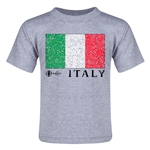 Italy Euro 2016 Fashion Toddler T-Shirt (Grey)