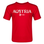 Austria Euro 2016 Core Toddler T-Shirt (Red)
