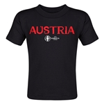 Austria Euro 2016 Core Toddler T-Shirt (Black)