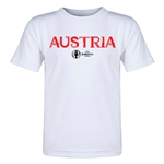 Austria Euro 2016 Core Toddler T-Shirt (White)