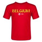 Belgium Euro 2016 Core Toddler T-Shirt (Red)