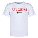 Belgium Euro 2016 Core Toddler T-Shirt (White)