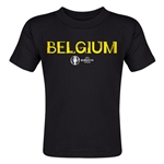 Belgium Euro 2016 Core Toddler T-Shirt (Black)