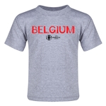 Belgium Euro 2016 Core Toddler T-Shirt (Grey)