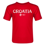 Croatia Euro 2016 Core Toddler T-Shirt (Red)