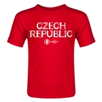 Czech Republic Euro 2016 Core Toddler T-Shirt (Red)