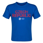 Czech Republic Euro 2016 Core Toddler T-Shirt (Royal)