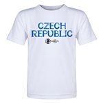 Czech Republic Euro 2016 Core Toddler T-Shirt (White)