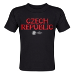 Czech Republic Euro 2016 Core Toddler T-Shirt (Black)