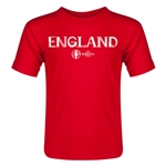 England Euro 2016 Core Toddler T-Shirt (Red)