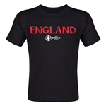 England Euro 2016 Core Toddler T-Shirt (Black)