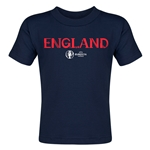 England Euro 2016 Core Toddler T-Shirt (Navy)