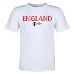 England Euro 2016 Core Toddler T-Shirt (White)