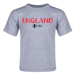 England Euro 2016 Core Toddler T-Shirt (Grey)
