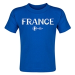 France Euro 2016 Core Toddler T-Shirt (Royal)