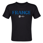France Euro 2016 Core Toddler T-Shirt (Black)