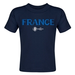 France Euro 2016 Core Toddler T-Shirt (Navy)
