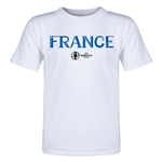 France Euro 2016 Core Toddler T-Shirt (White)