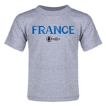 France Euro 2016 Core Toddler T-Shirt (Grey)