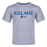 Iceland Euro 2016 Core Toddler T-Shirt (Grey)