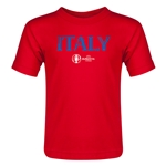 Italy Euro 2016 Core Toddler T-Shirt (Red)