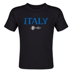 Italy Euro 2016 Core Toddler T-Shirt (Black)