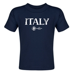 Italy Euro 2016 Core Toddler T-Shirt (Navy)