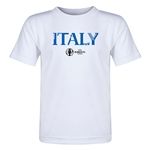 Italy Euro 2016 Core Toddler T-Shirt (White)