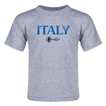 Italy Euro 2016 Core Toddler T-Shirt (Grey)
