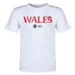Wales Euro 2016 Core Toddler T-Shirt (White)