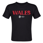 Wales Euro 2016 Core Toddler T-Shirt (Black)