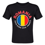 Romania Euro 2016 Fashion Toddler T-Shirt (Black)