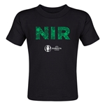 Northern Ireland Euro 2016 Elements Toddler T-Shirt (Black)